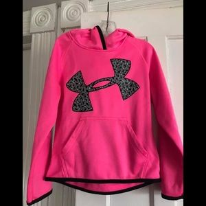Other - UNDER ARMOUR HOODED TOP! Girls sz 6